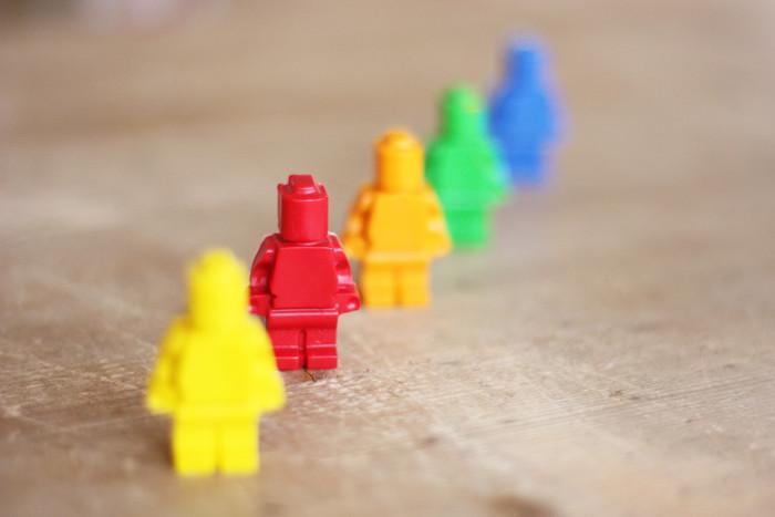 Lego crayons (via morningcreativity)