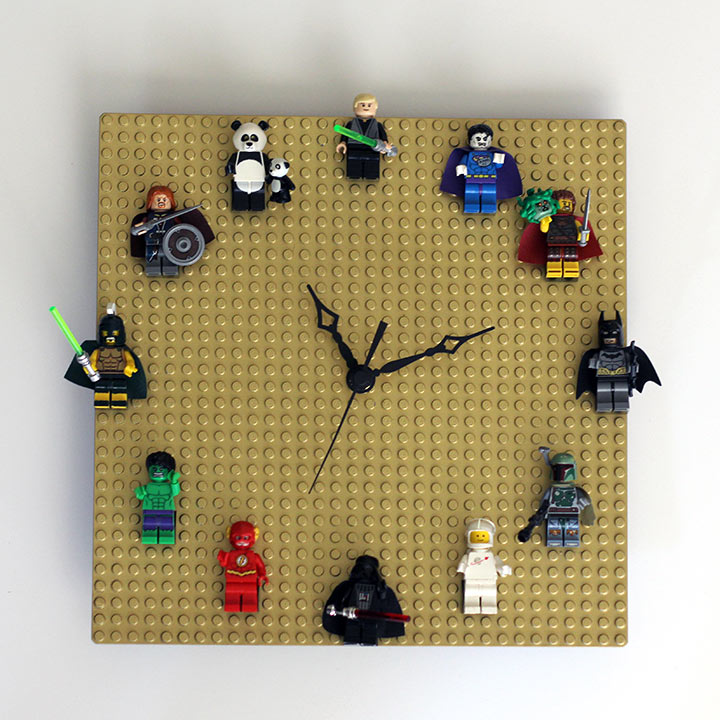 Lego kid clock (via ournerdhome)