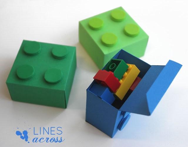 Lego gift box (via linesacross)