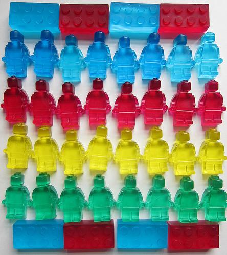 Lego soap (via justcraftyenough)
