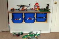 LEGO wall table