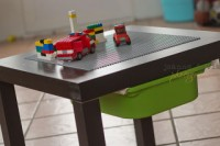 small LEGO table