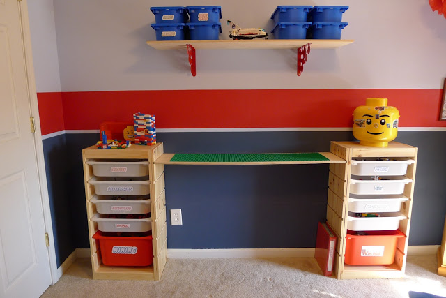 IKEA LEGO table with storage (via thatmommyblog)