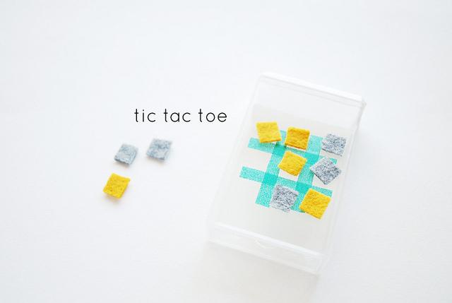 tiny felt tic tac toe