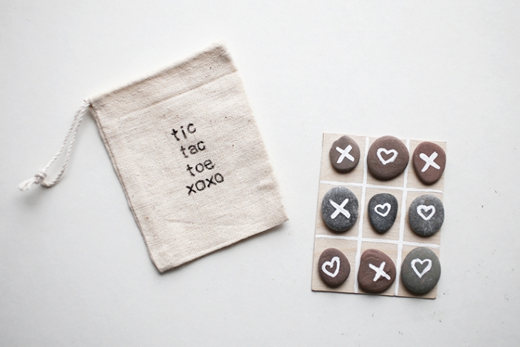 tic tac toe valentine (via themerrythought)