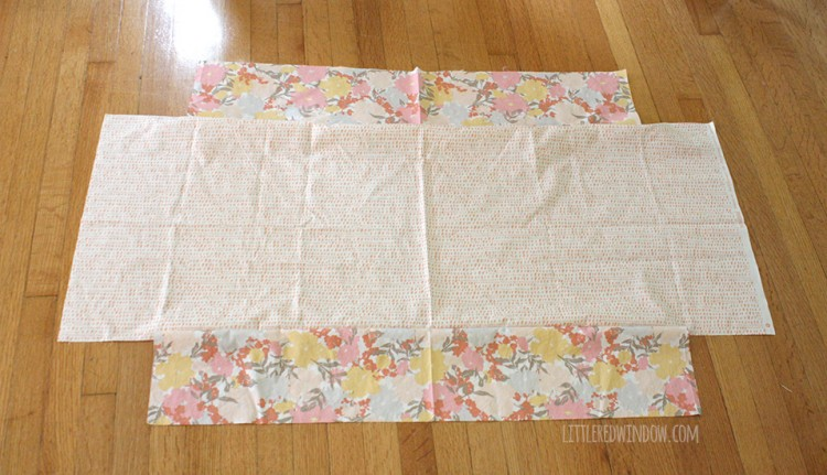 Easy DIY Diaper Changing Pad Cover