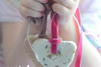 scented salt hearts