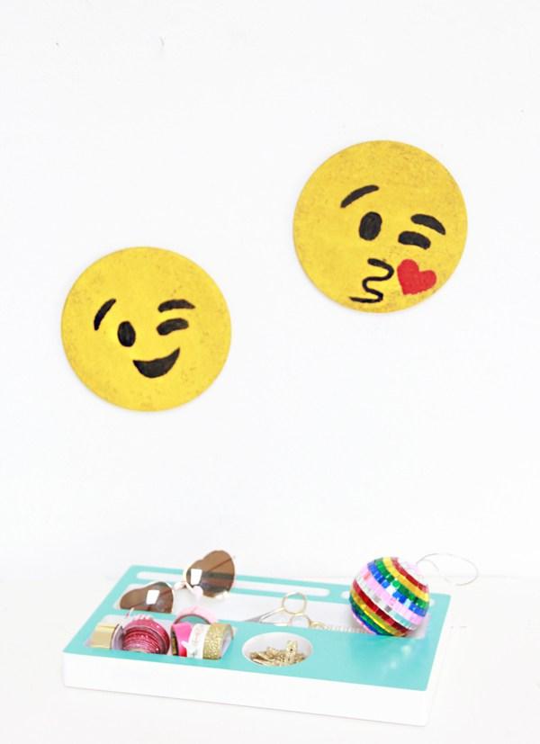 Fun And Bold DIY Emoji Cork Boards