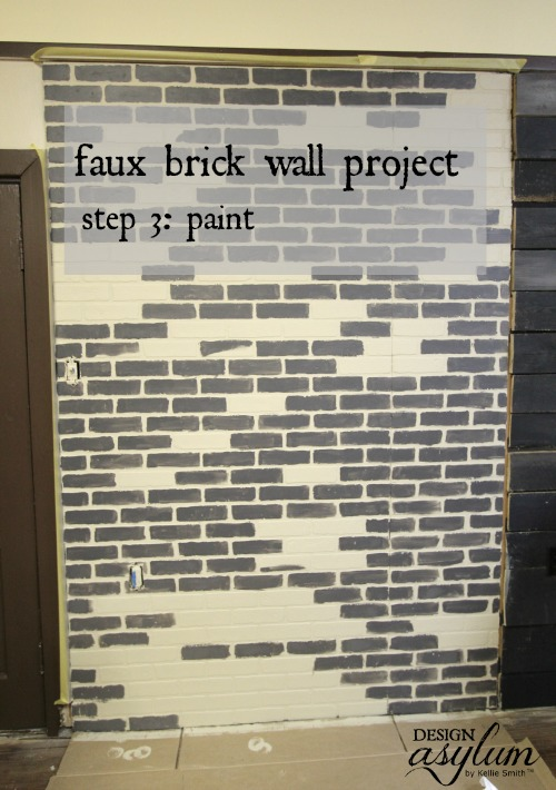 Picture Of how to make faux brick walls look old  4