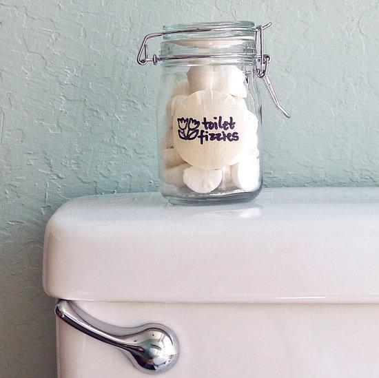 toilet bomb fizzies (via popsugar)
