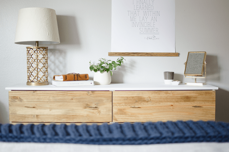 Stylish DIY Ikea Tarva Dresser Hack