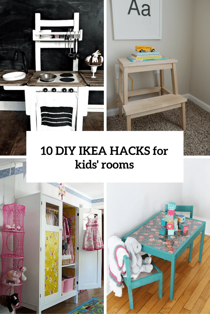 10 awesome diy ikea hacks for any kids room shelterness for Room decor hacks