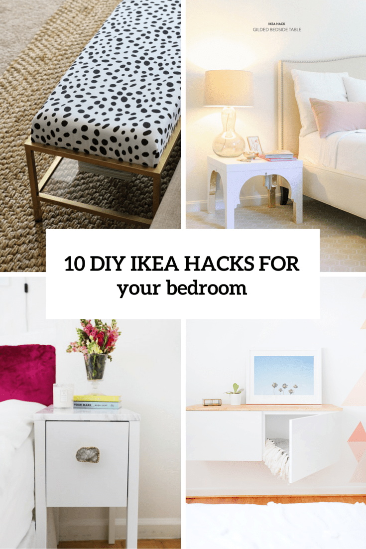 10 awesome and practical diy ikea hacks for your bedroom shelterness Ikea furniture home accessories