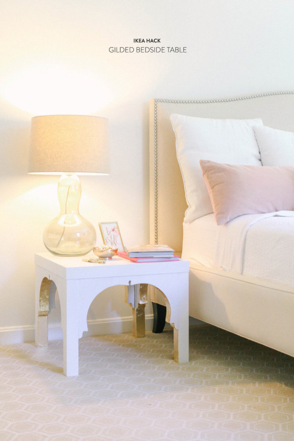 DIY Lack side table hack (via stylemepretty)