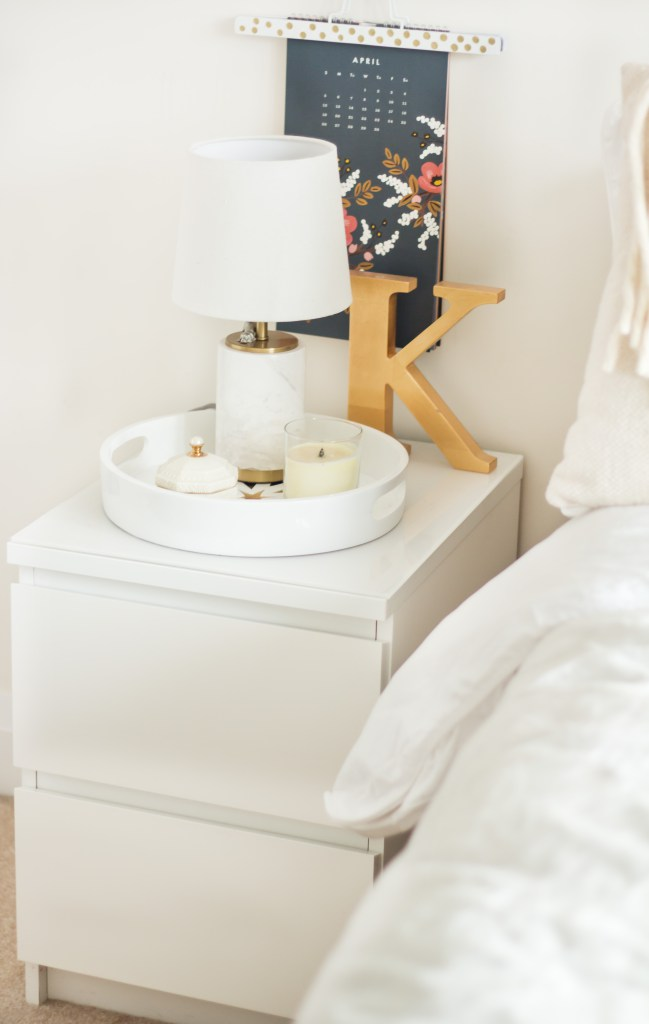 DIY IKEA Malm table hack (via theblondielocks)
