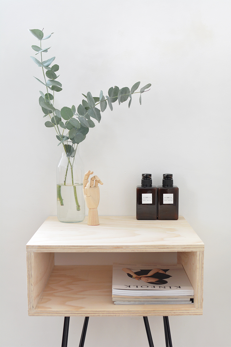 Picture of chic diy mid century modern nightstand 2