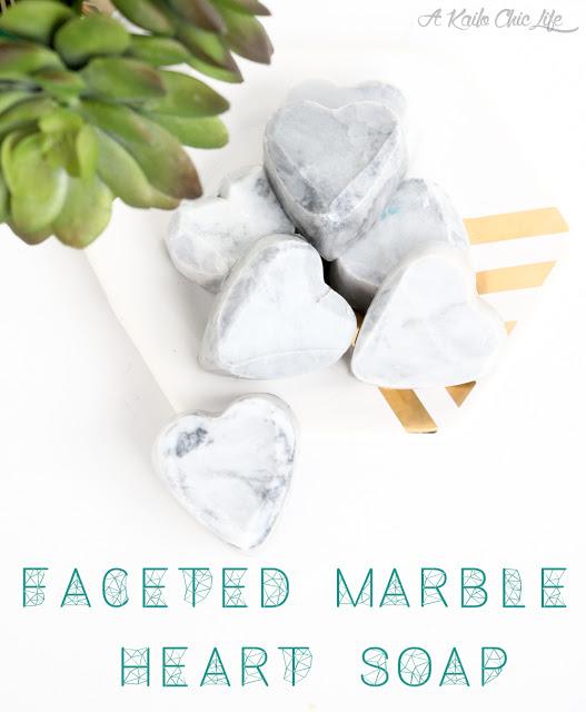 DIY marble heart soaps (via akailochiclife)