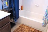 DIY spa bath mat