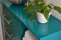 DIY sink countertop