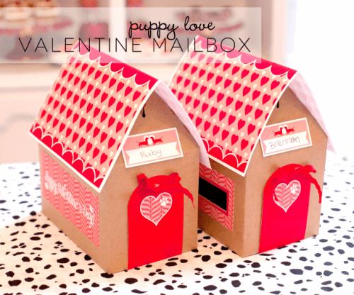 DIY Valentine house mailbox