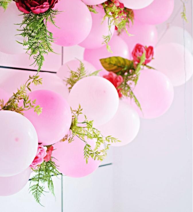 Diy Flower Garland: DIY Balloon Flower Garland For Parties
