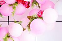 diy-balloon-flower-garland-for-parties-6