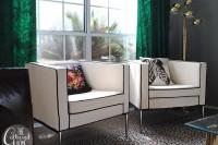 DIY IKEA chairs hack