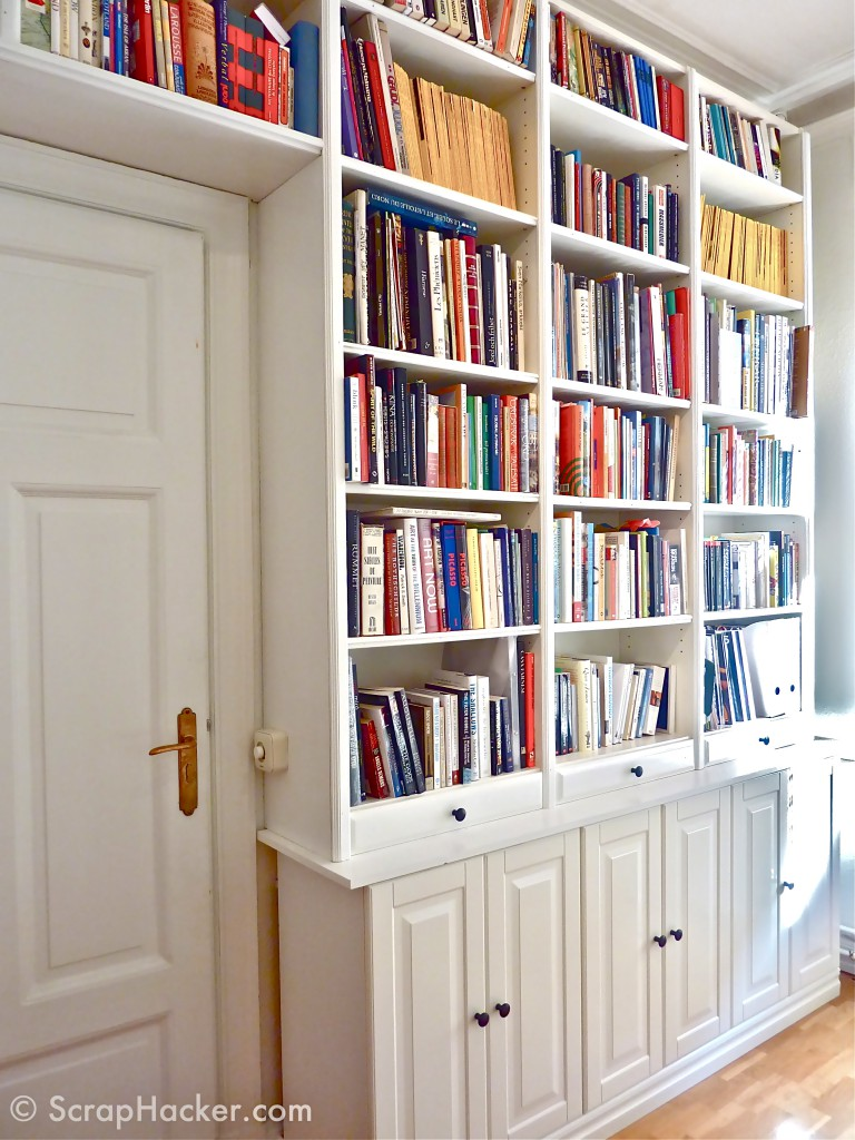 DIY Billy bookcase hack