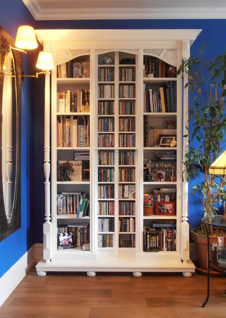 DIY fake old library (via ikeahackers)