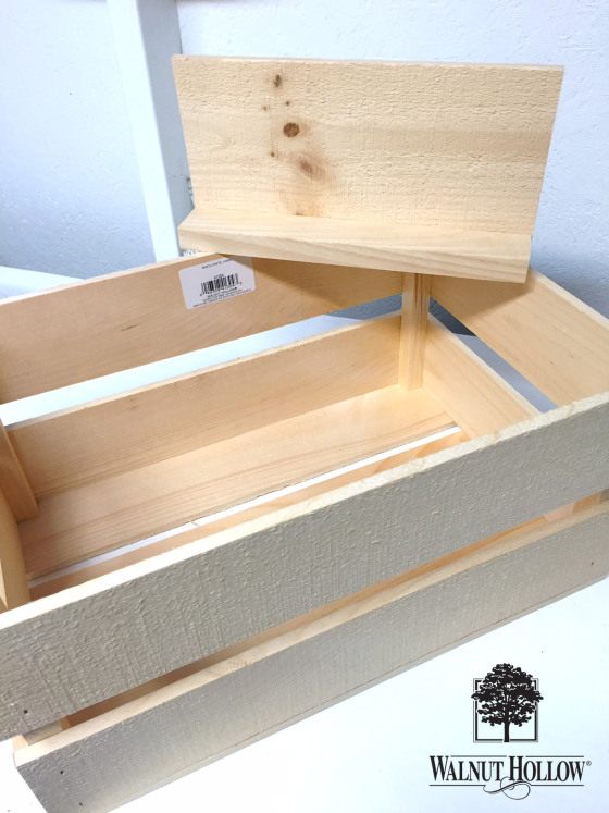 DIY Rustic Crate And PVC Toy Storage Unit
