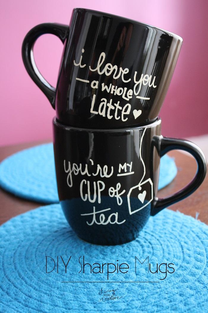 black sharpie mugs (via livingyourcreative)