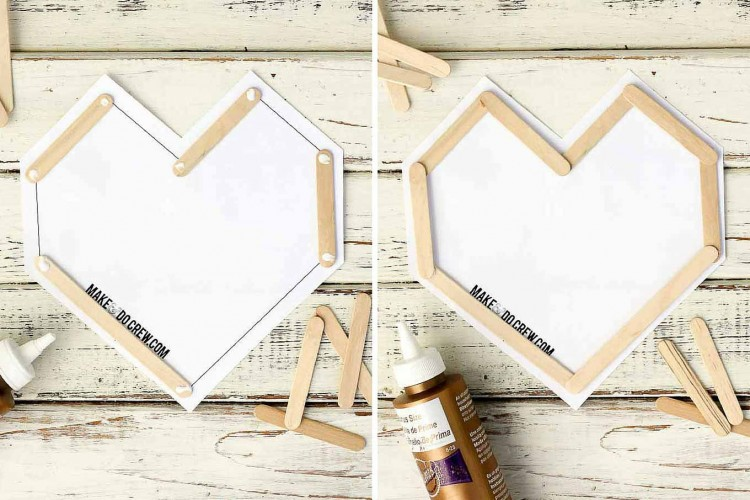 Easy And Fun DIY Popsicle Stick Valentines