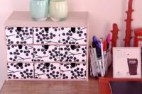 DIY desk box organizer