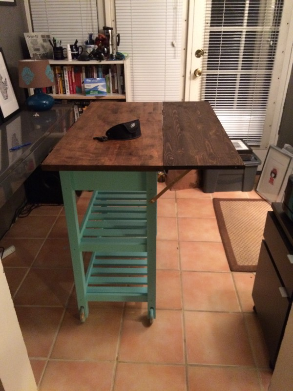diy ikea f rh ja kitchen cart hack via https