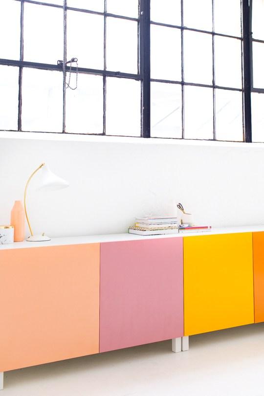DIY color block storage (via sugarandcloth)
