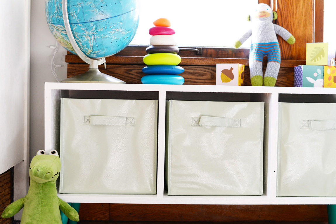 Picture Of simple and modern diy toy storage bench  5