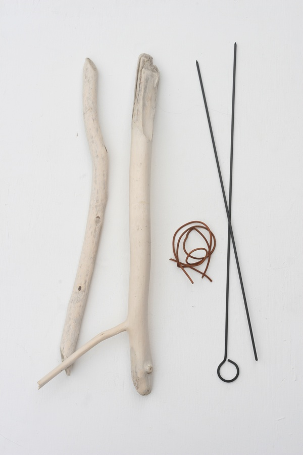 Simple DIY Marshmallow Sticks Using Driftwood