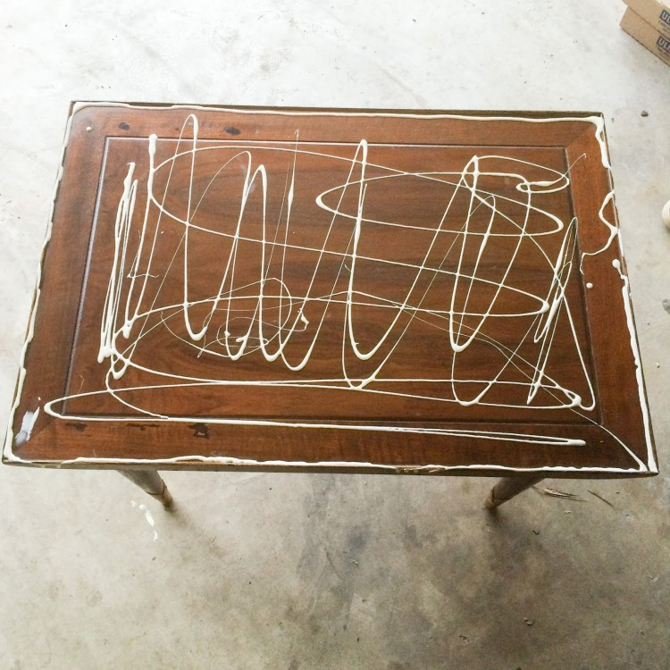 Stylish And Chic DIY Revamped Coffee Table