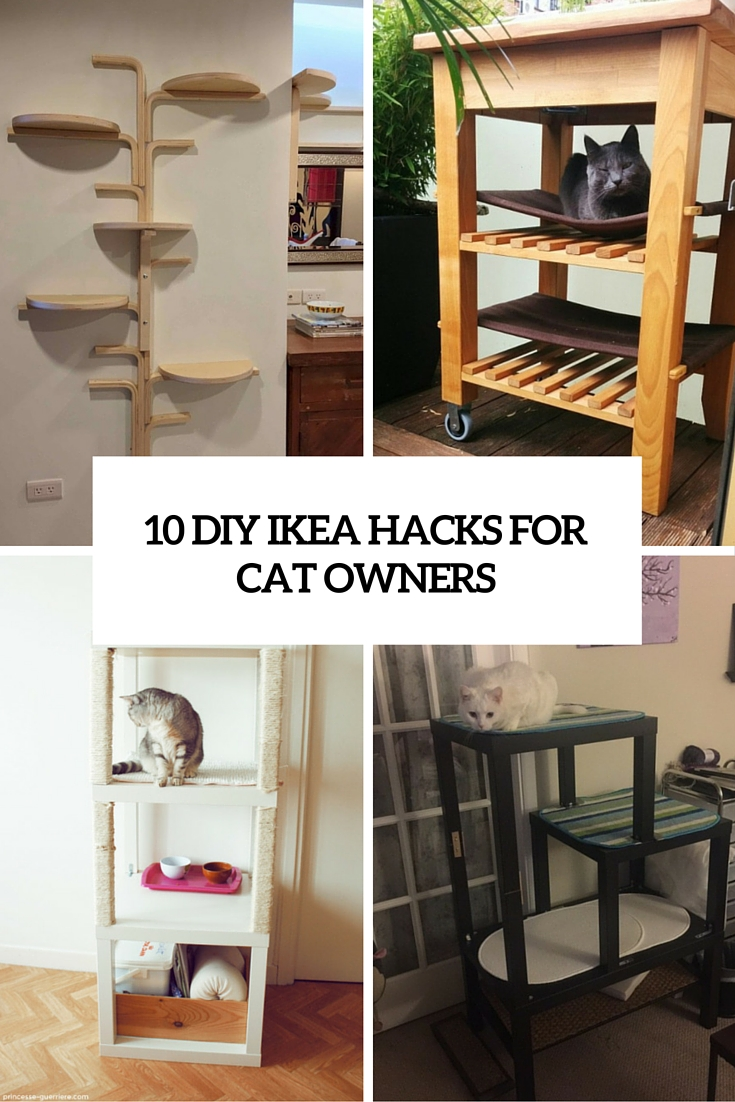 10 diy ikea hacks for cat owners cover