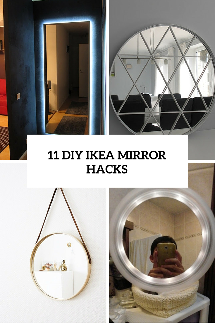 11 Beautiful Diy Ikea Mirrors Hacks To Try Shelterness