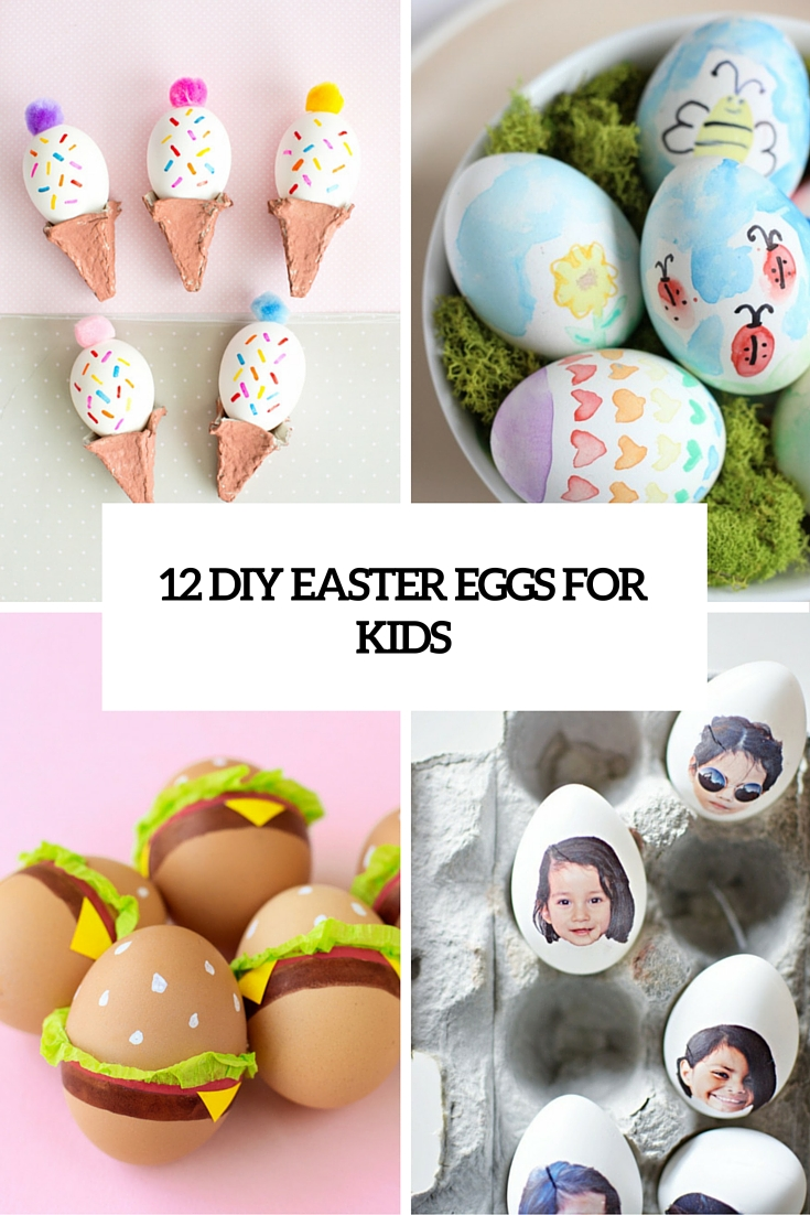 12 DIY Easter Egg Crafts To Excite Your Kids