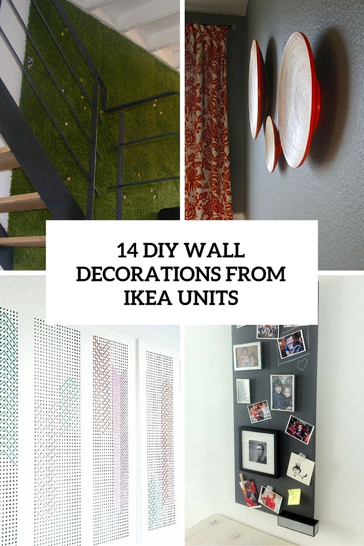 14 Eye-Catching Wall Decorations From IKEA Items