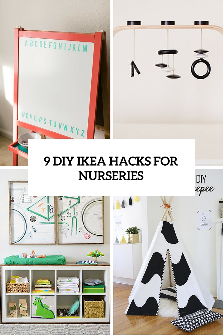 9 Totally Charming DIY IKEA Hacks For A Nursery