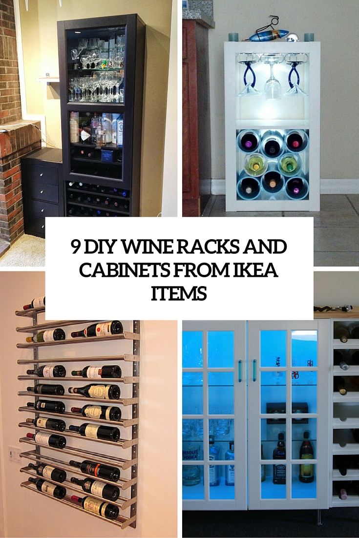 9 diy wine racks and cabinets from ike units cover