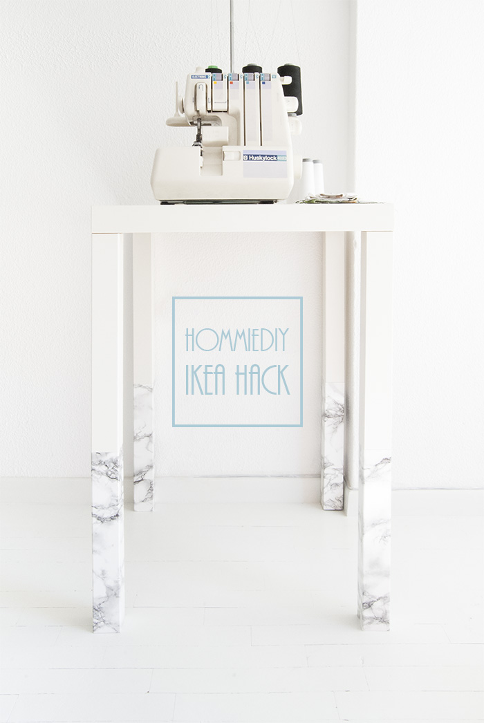 DIY sewing desk