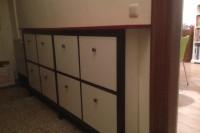 DIY IKEA Hemnes shoe cabinet