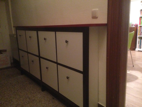 12 awesome diy ikea hacks for shoes organization shelterness for Ikea shoe cabinet hemnes