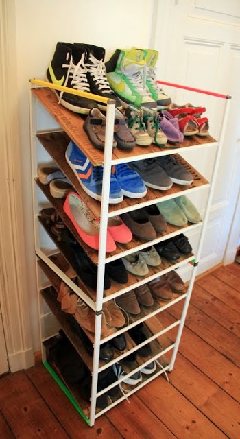 DIY Antonius shoe storage