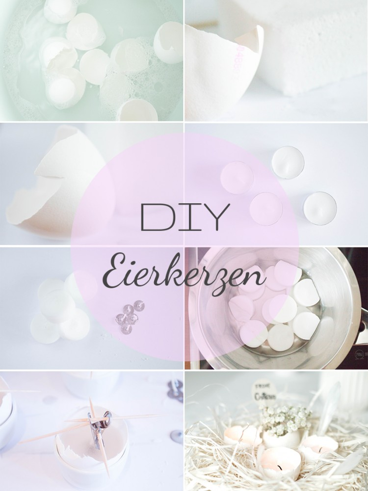 Beautiful DIY Eggshell Candles For Easter