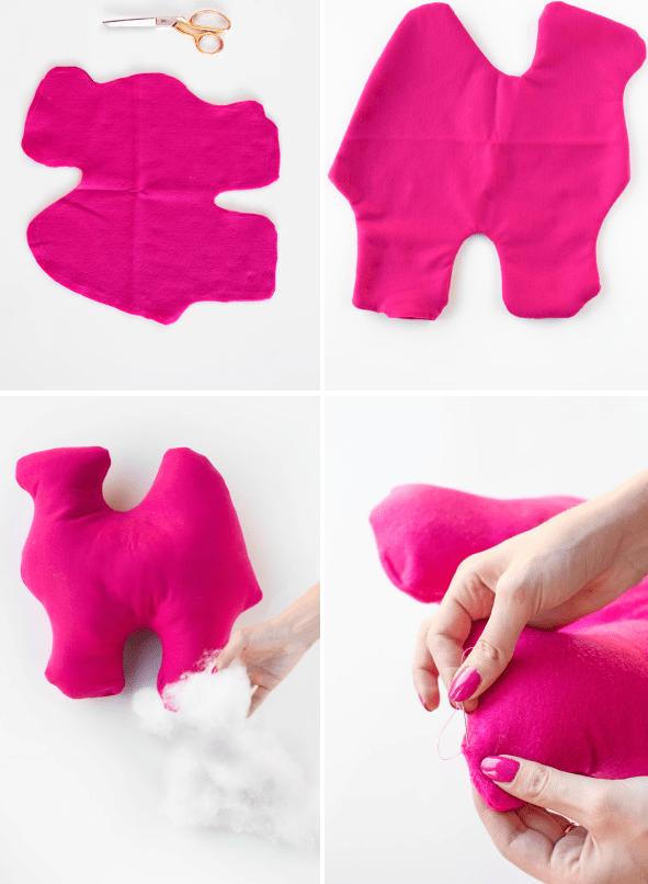 Bold DIY Circus Animal Cookie Pillows Shelterness - Bold diy circus animal cookie pillows